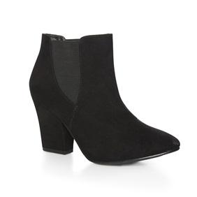 Black heeled Chelsea boot £15.00