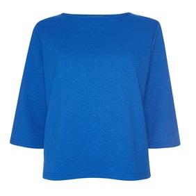 Cobalt blue boxy top £6.00